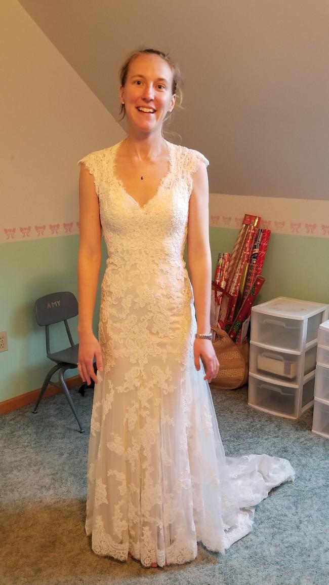 Maggie Sottero Style 12623 Bronwyn New Wedding Dress On Sale 27