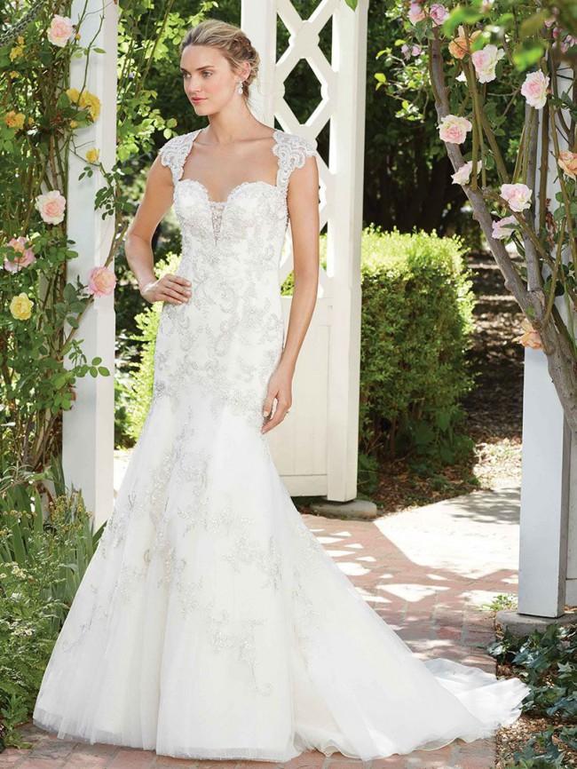 Casablanca Bridal 2277 - Hibiscis