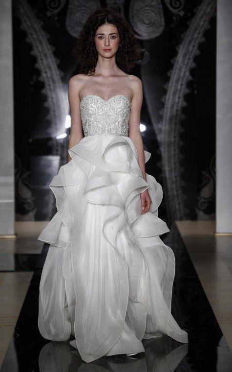 93423a067105 Reem Acra Tiana Second Hand Wedding Dress on Sale 66% Off - Stillwhite  United Kingdom
