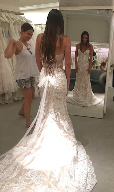 d7472a4678 Pnina Tornai 4348a New Wedding Dress on Sale 30% Off - Stillwhite