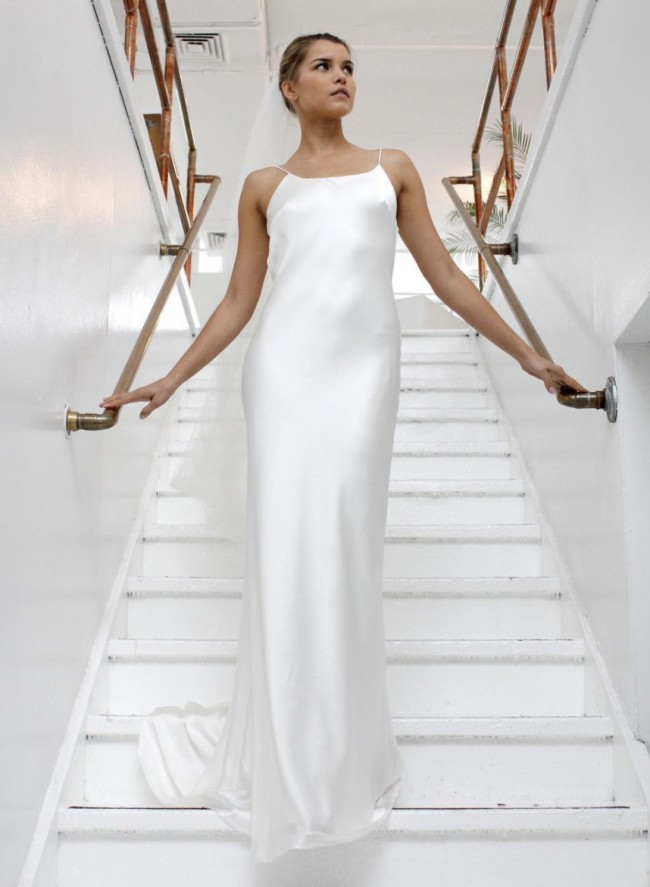 Fiona Claire Spaghetti Strap Dress