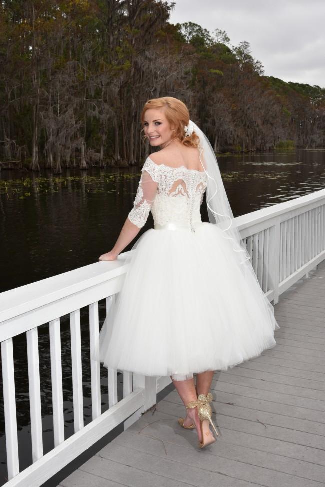 Feya Bridal Anita Cocktail Wedding Dress