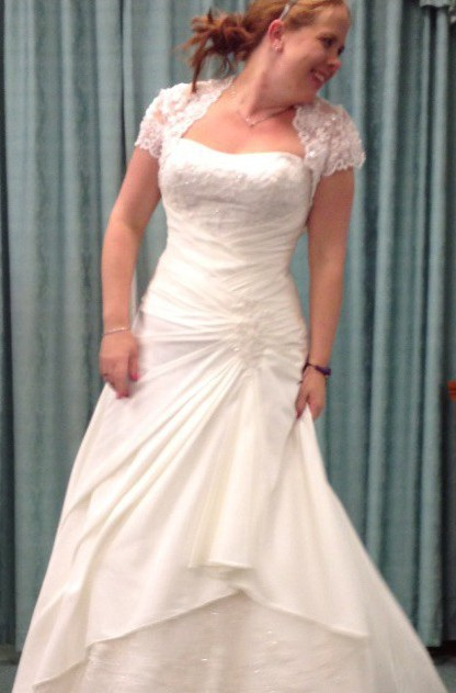 David Tutera For Mon Cheri, A-Line