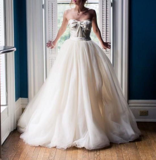 Vera Wang VW351213 New Wedding Dress On Sale 67% Off