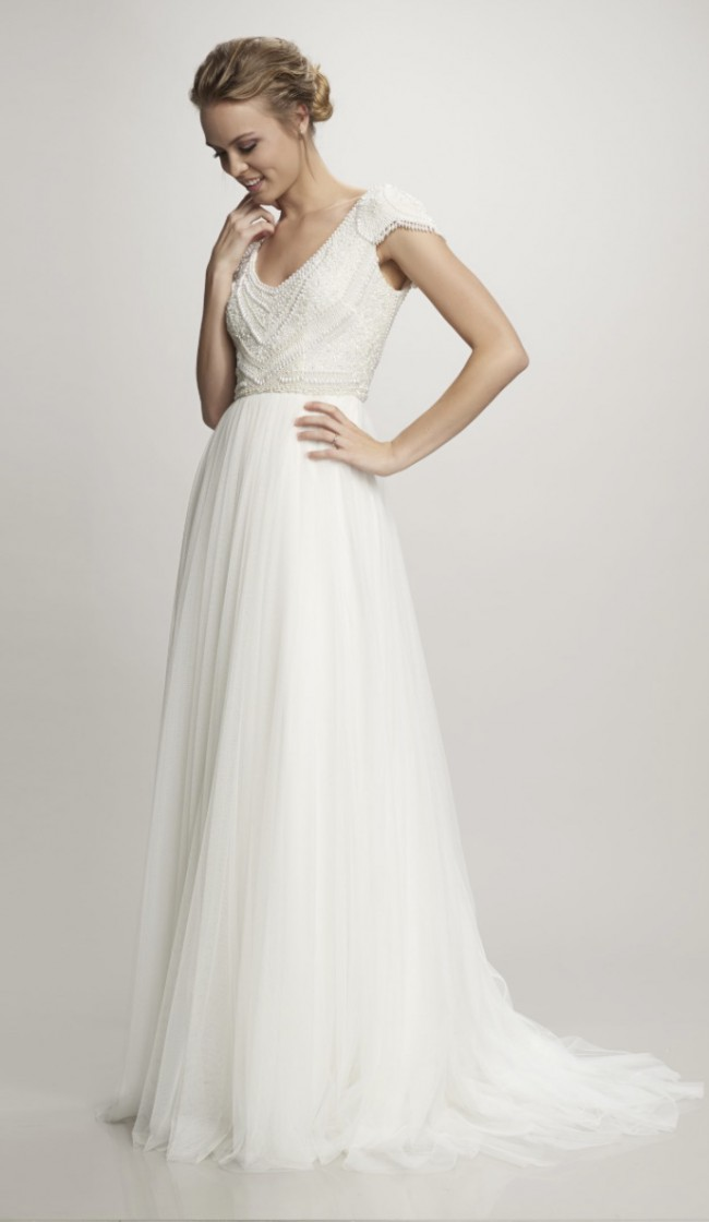 BHLDN, Beaded Theia Couture Nima Gown