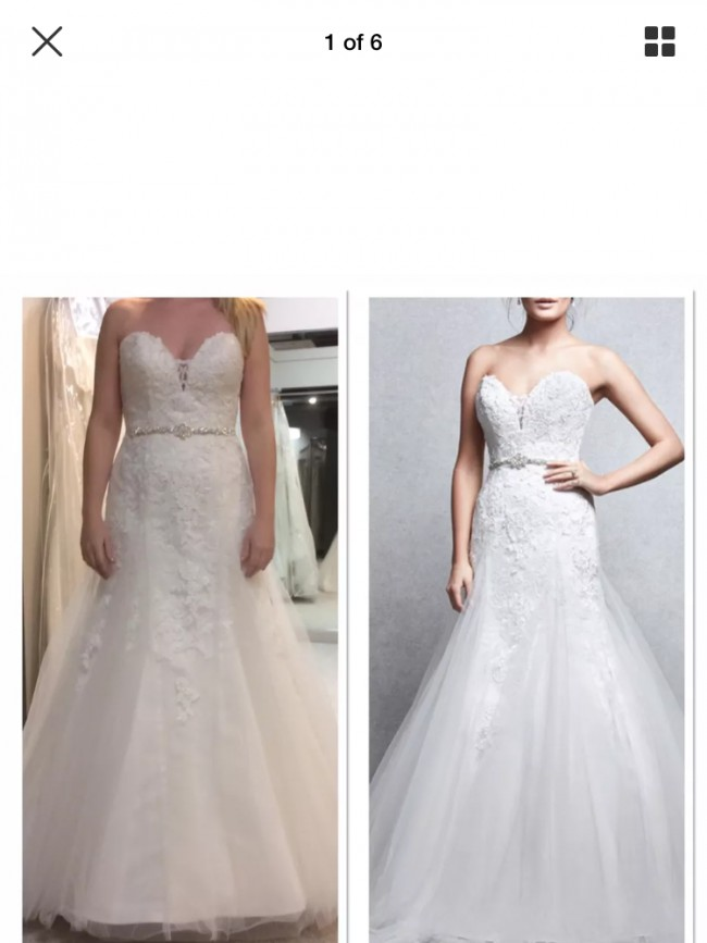 a46bfeb0e6d5 Wed2b Verity New Wedding Dress on Sale 50% Off - Stillwhite United ...