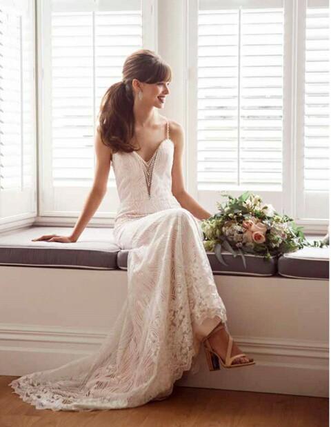 Ivory And Stone Bridal Margarite