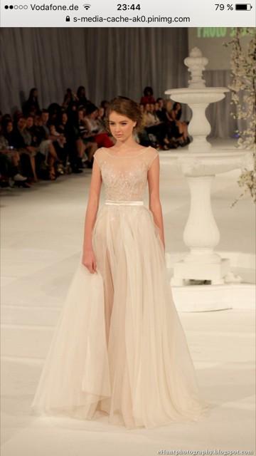 Paolo Sebastian Swan Lake Used Wedding Dress Save 30 Stillwhite