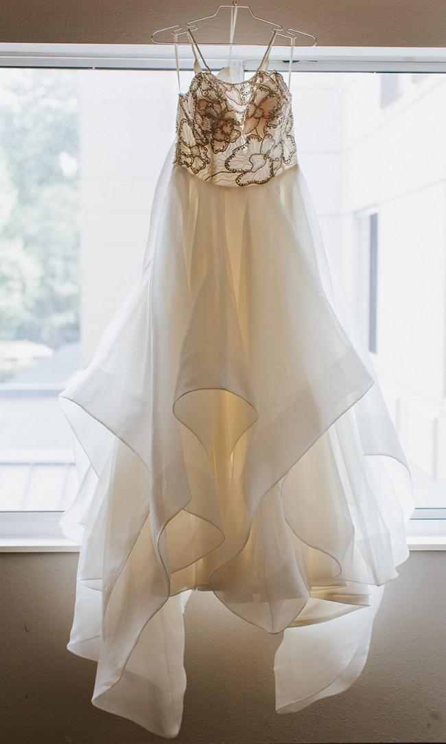 Hayley Paige Custom made ('Tulua' bodice & 'Dare' skirt)