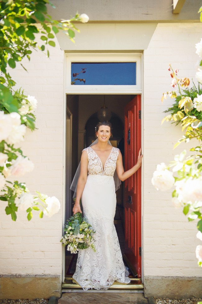 Catherine R Couture Angel gown