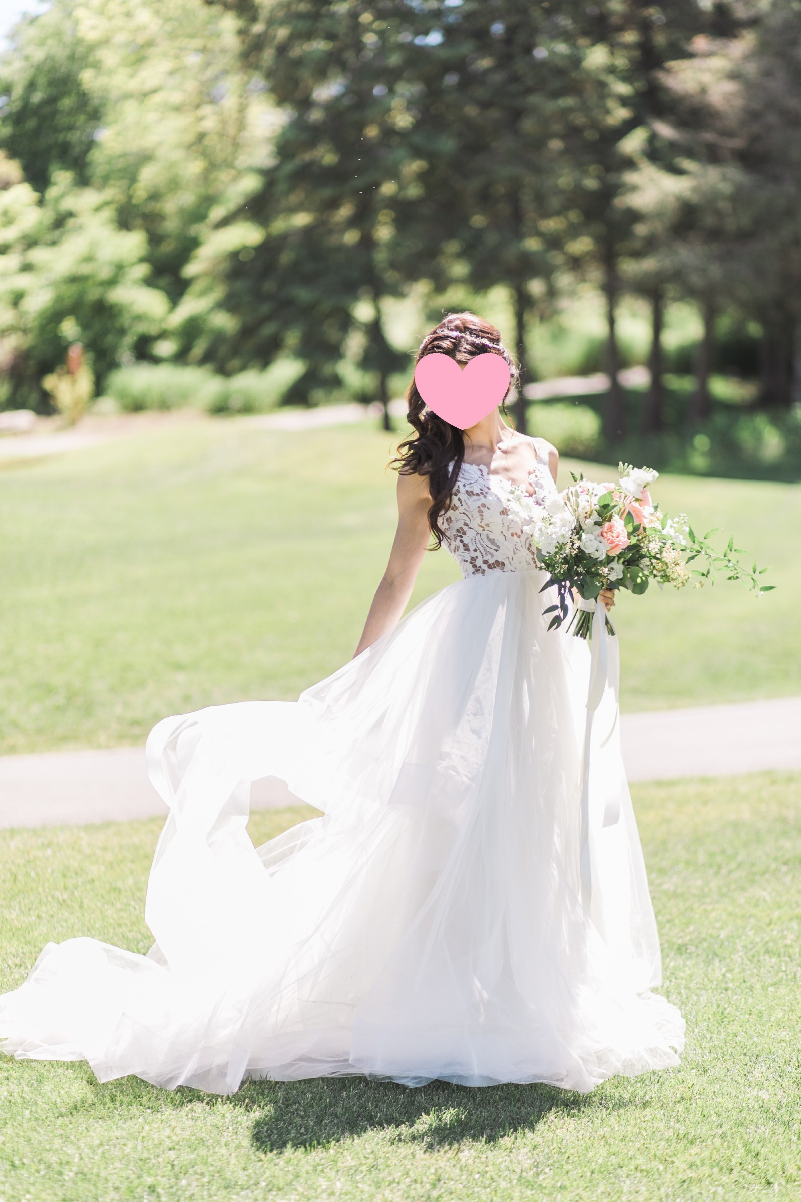 1cda18a8daee Hayley Paige Halo, Style 1600 Used Wedding Dress on Sale 40% Off ...