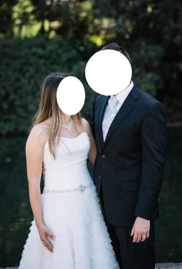 David's Bridal SWG9902