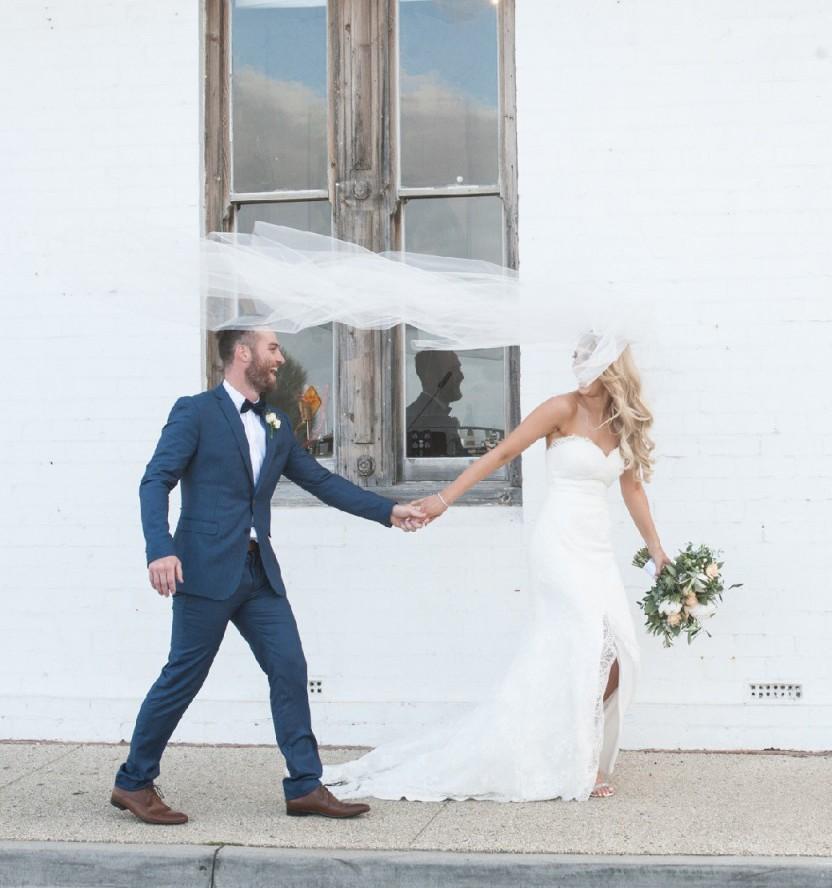 Jane Hill Grace Used Wedding Dress On Sale 50% Off