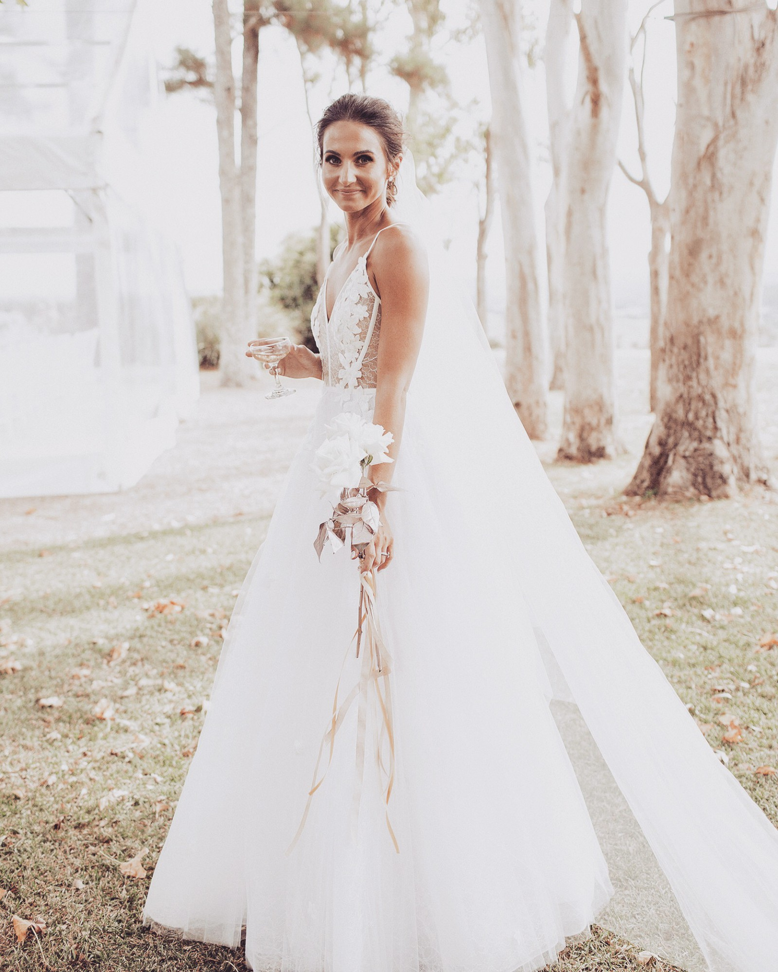 Alex Perry Wedding Gowns: French Lace Bikini Embellished Gown