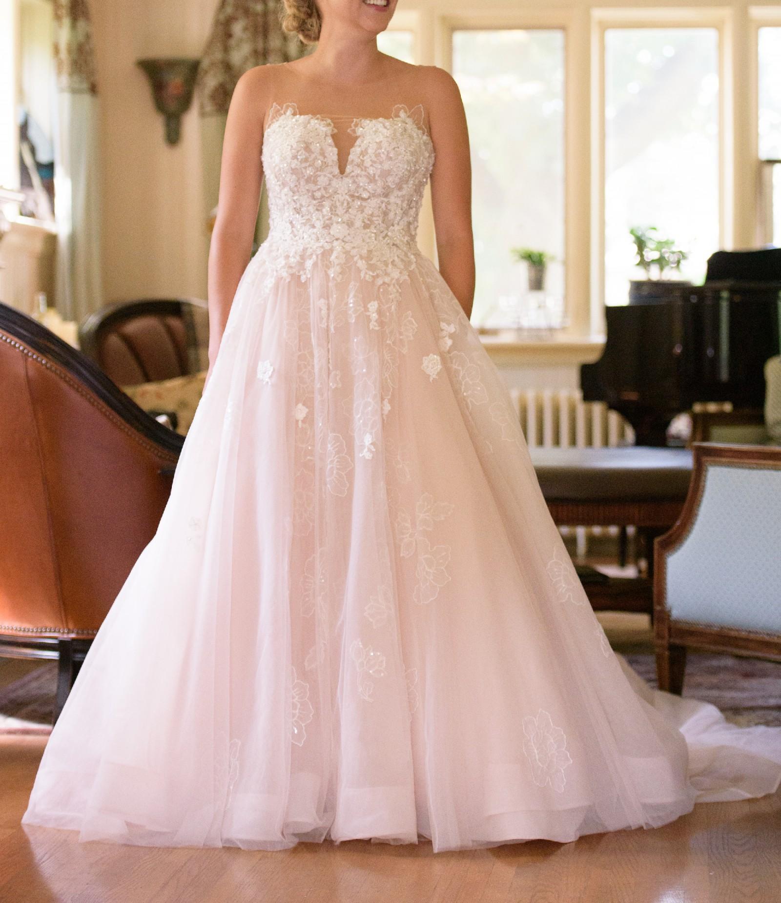 Essense Of Australia D2126 Used Wedding Dress On Sale 50