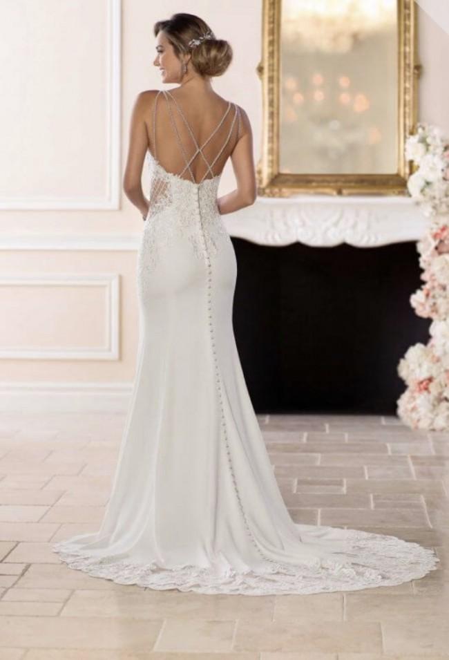 8bac2a34fb0 Stella York 6586 New Wedding Dress on Sale 33% Off - Stillwhite ...