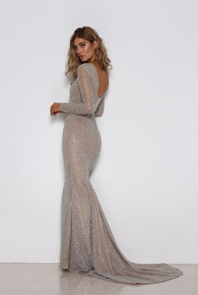 30585794cf Portia & Scarlett Khloe G (with train) New Wedding Dress on Sale 29 ...