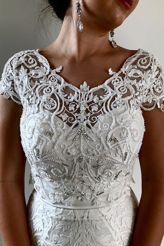 When Freddie Met Lilly Dania Embellished Bodice