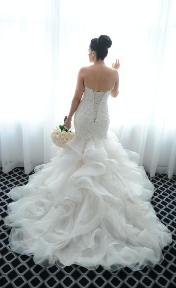218d64f970e Essense of Australia D2258 Second Hand Wedding Dress on Sale 31% Off -  Stillwhite Australia