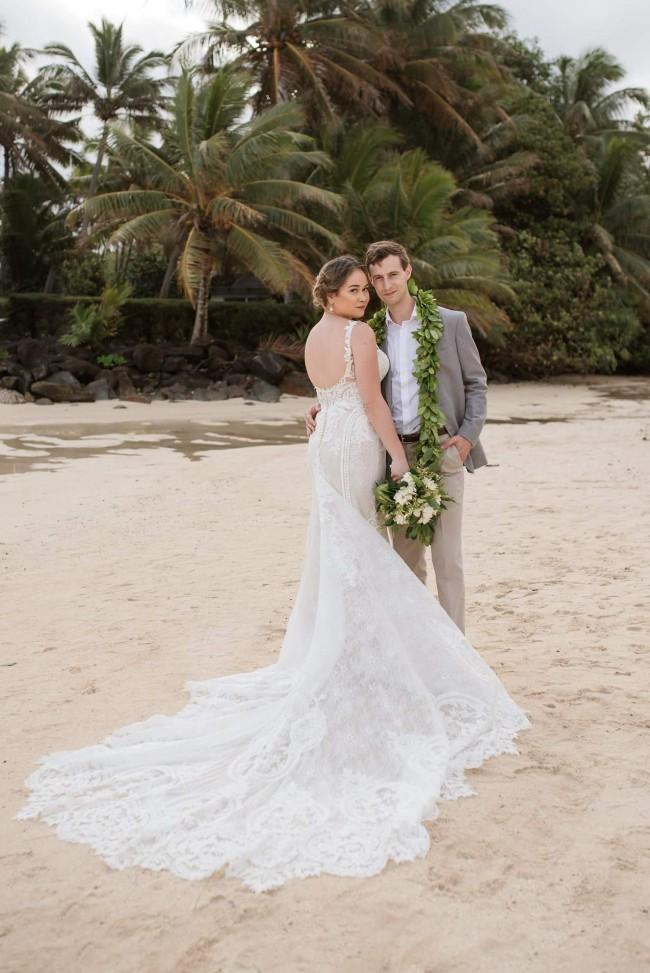 Martina Liana Wedding Dress Trumpet