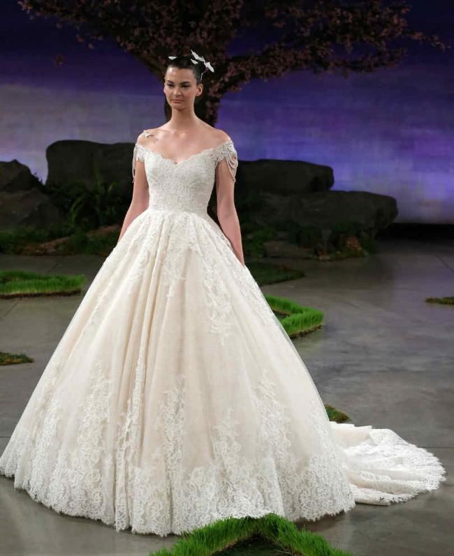 Ines Di Santo Spring 2016 Wedding Dress Collection