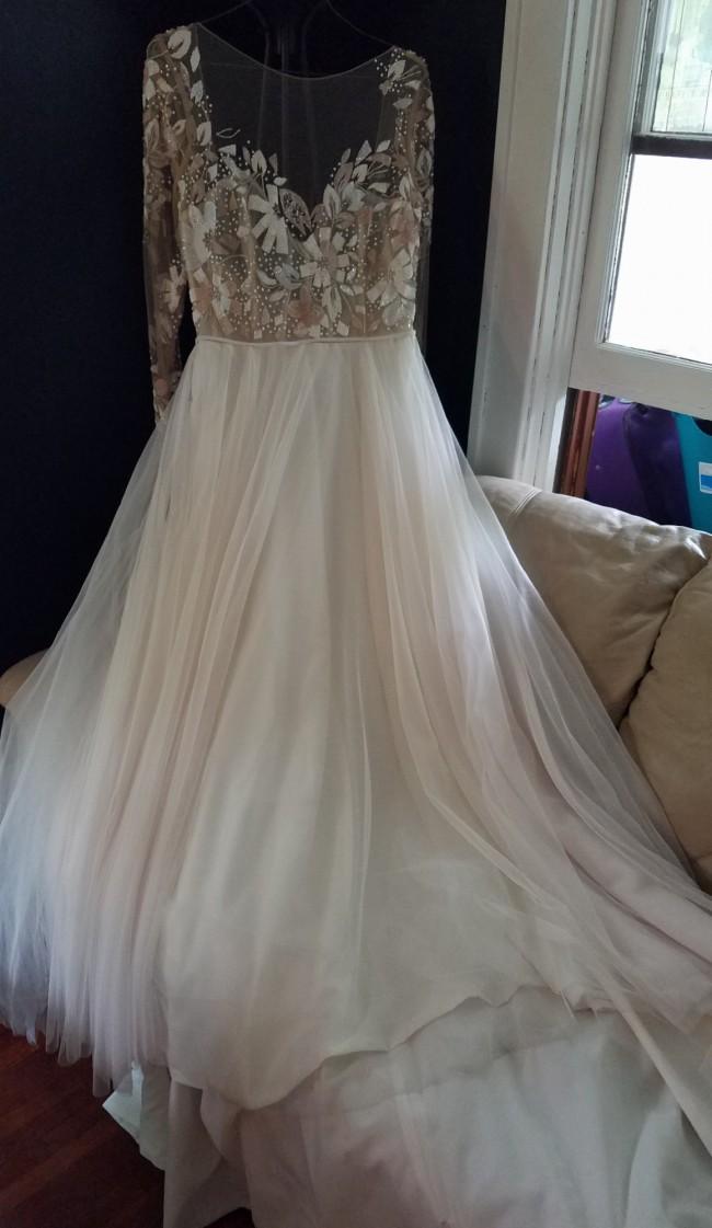 e92c5809d55fe Hayley Paige Remmington Used Wedding Dress on Sale 51% Off - Stillwhite