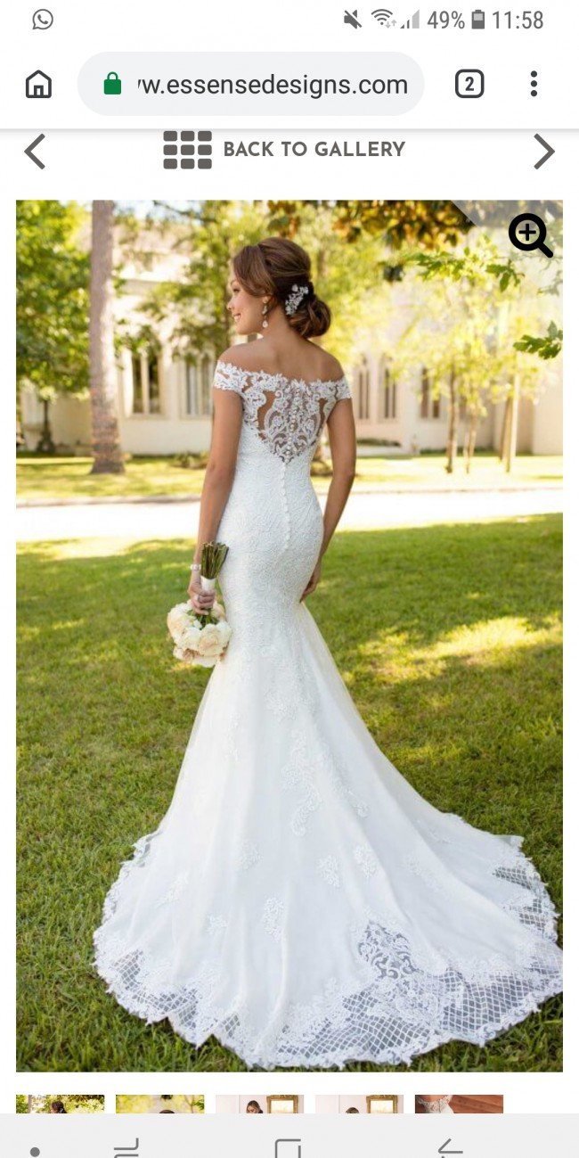 Stella York Bohemian Lace Wedding Gown 6639 Wedding Dress On Sale 84 Off