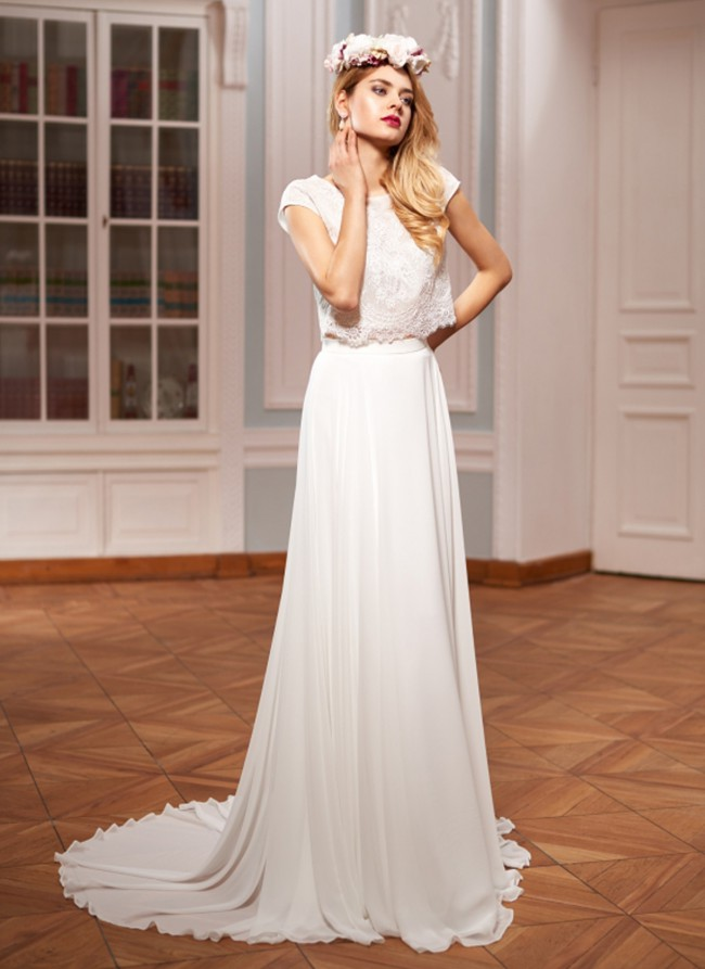 Herm's Bridal, Azurite Two-Piece