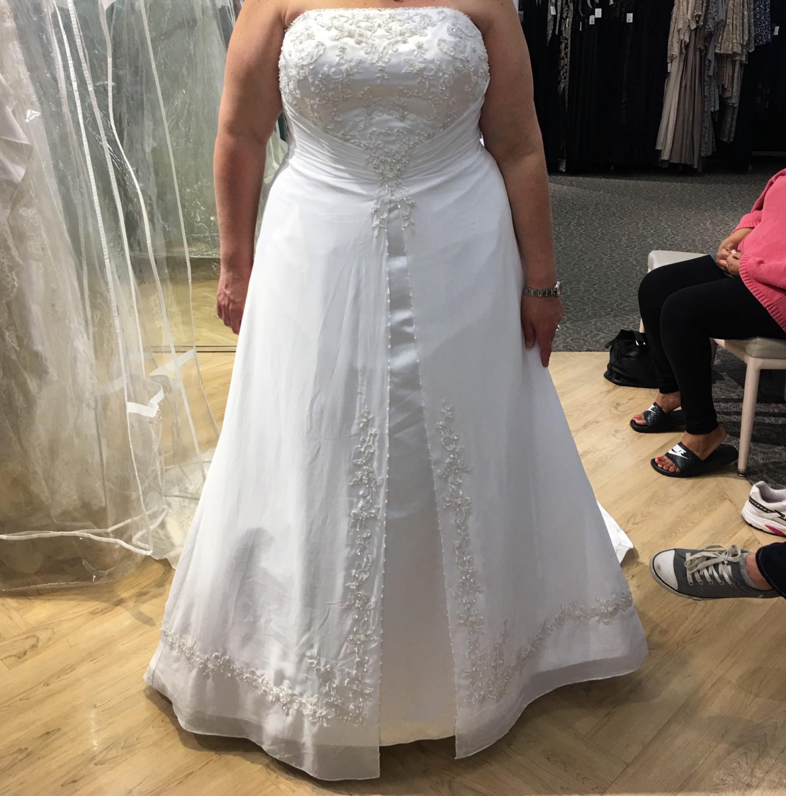 David Bridal Bridesmaid Dresses Plus Size: David's Bridal New Wedding Dress On Sale 23% Off