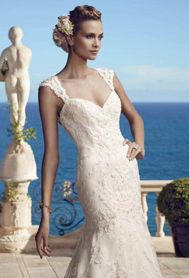Casablanca Bridal Style 2195