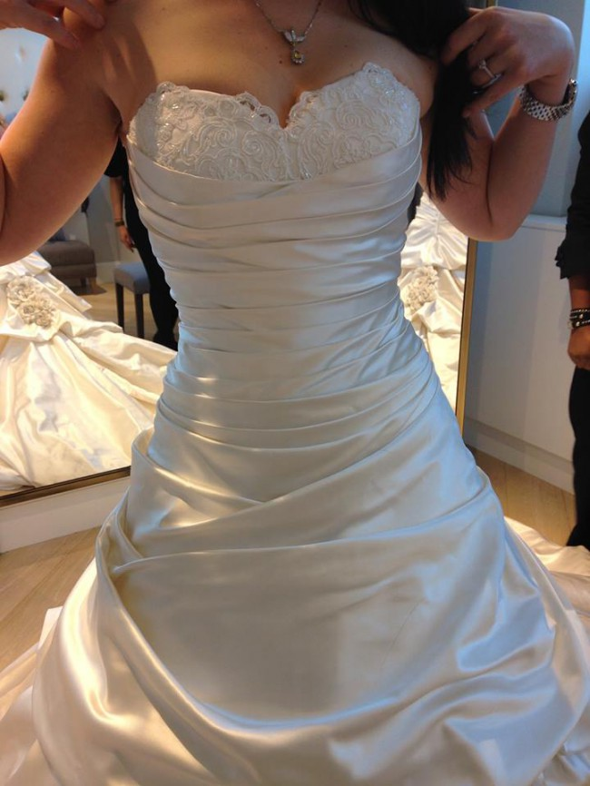 345d79c9b3ff New lower price. Pnina Tornai, Ball Gown Sweetheart Floor Length Attached  Silk Ta