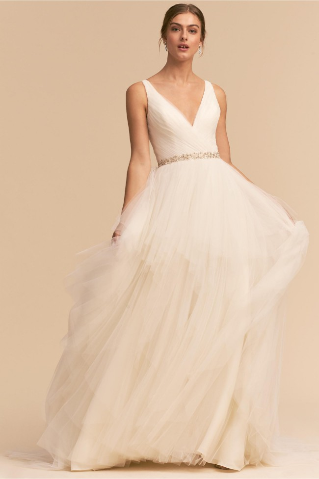 BHLDN Majestic Ballgown