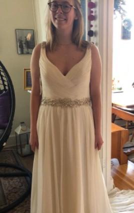 Stella York CHIFFON BEACH WEDDING DRESS - Style 6018