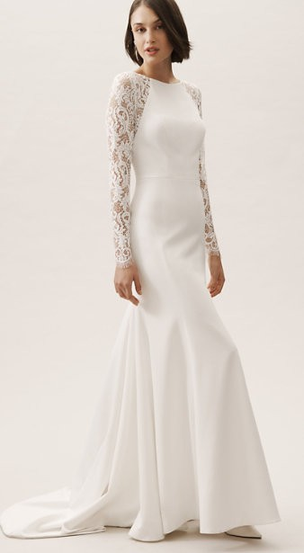 BHLDN Providence Gown
