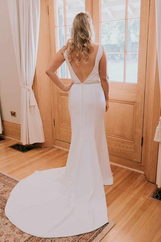 Brides of Armadale Custom Bridgette dress