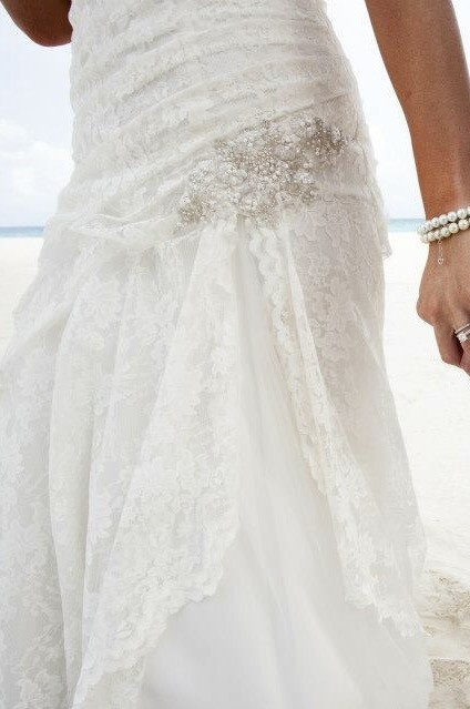 62fed0fc194 David s Bridal YP3344 Used Wedding Dress on Sale 69% Off - Stillwhite