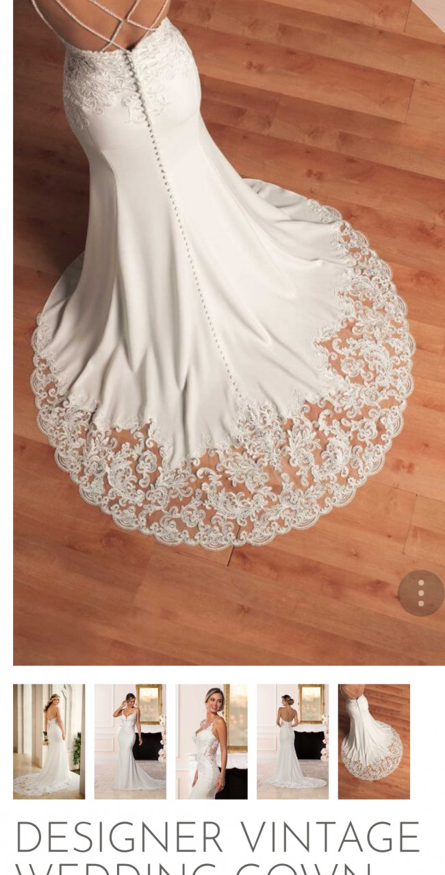 1a098be5a5c Stella York 6586 Preloved Wedding Dress on Sale 38% Off - Stillwhite