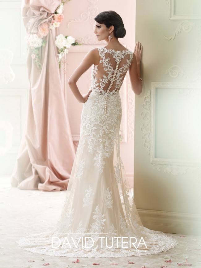 92523d15e26 David Tutera Florine New Wedding Dress on Sale - Stillwhite Australia