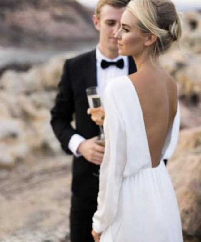 Houghton NYC Houghton wedding gown