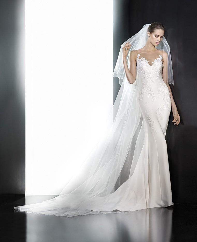 Pronovias Plisa Second Hand Wedding Dress On Sale 63% Off