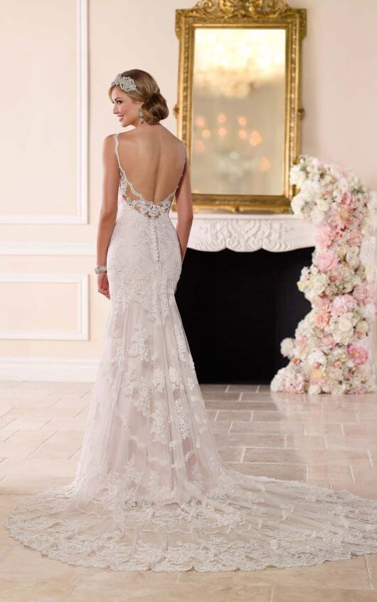 Stella York Antique inspired wedding dress - Style 6247