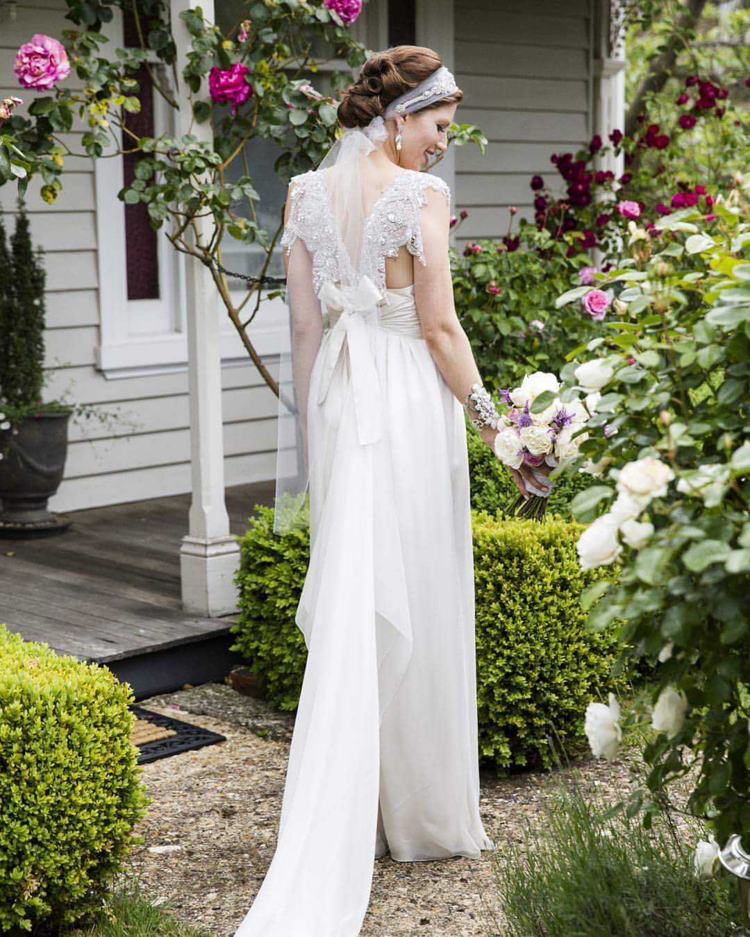 Anna Campbell Wedding Gowns: Anna Campbell 'Annabella' Made To Measure Preowned Wedding