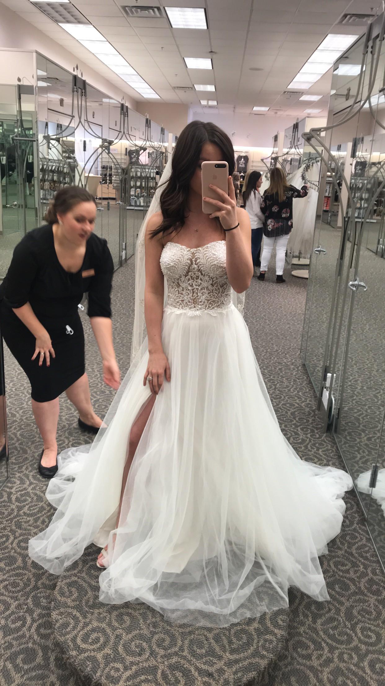 dfc0014839bc Galina Signature Swg764 New Wedding Dress on Sale 19% Off ...