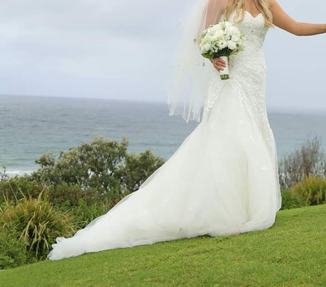 Sophia Tolli Y121246 Jillian Second Hand Wedding Dress On
