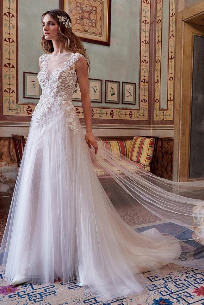 best website 91422 84253 Valentini Spose Graziana Valentini - G0081 Wedding Dress On Sale - 63% Off