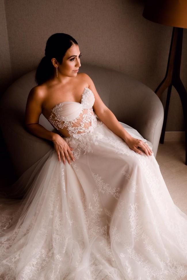 Liz Martinez Maria Gown