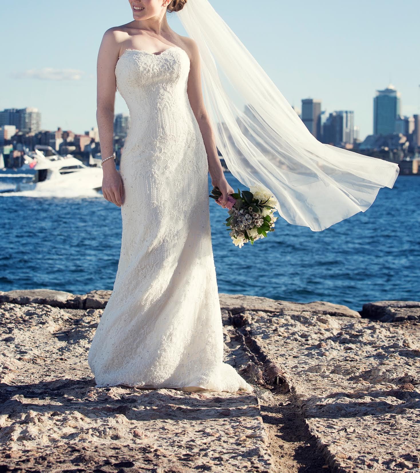 Martina Liana 423 Used Wedding Dress On Sale 70% Off