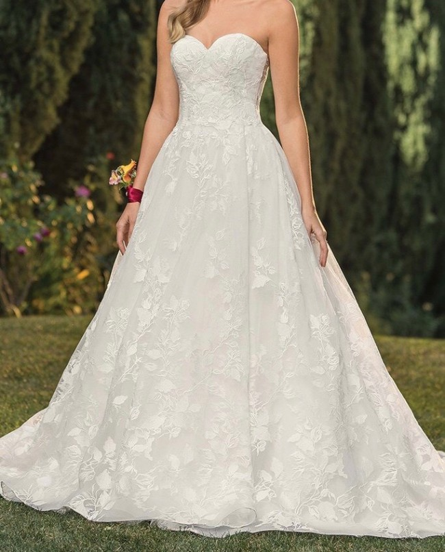 Casablanca Bridal Celebrate Forever Style #2349