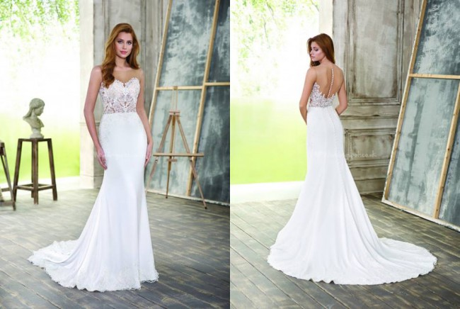 0a87f54c001 Fara Sposa 5207 Second Hand Wedding Dress on Sale 52% Off ...