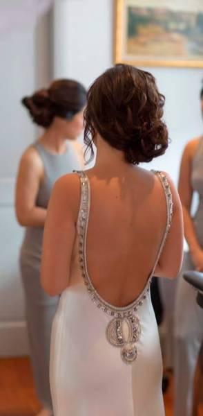 Johanna Johnson Odetta Gown Modified Preloved Wedding Dress On